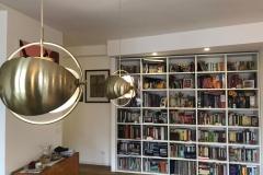una vetrata verde limone | soggiorno | VAAM architetti