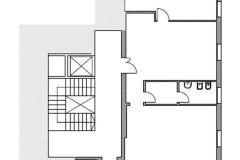 una vetrata verde limone | stato di fatto| VAAM architetti